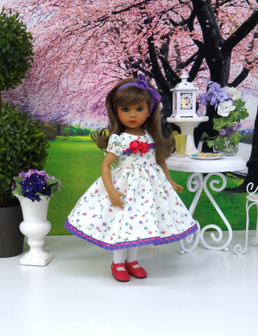 Spring Beauty - dress, tights & shoes for Little Darling Doll or other 33cm BJD