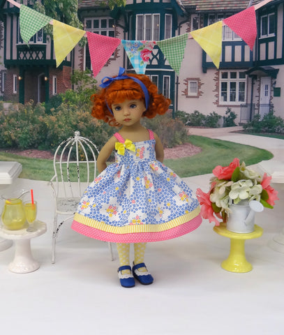 Spring Bouquet - dress, tights & shoes for Little Darling Doll or 33cm BJD
