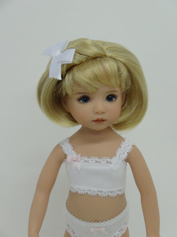 Stephanie Wig in Medium Blonde - for Little Darling dolls