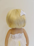 Stephanie Wig in Pale Blonde - for Little Darling dolls