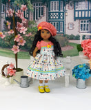 Straight Arrow - dress, hat, socks & shoes for Little Darling Doll or 33cm BJD