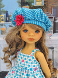 Summer Delight - dress, jacket, beret, tights & shoes for Little Darling Doll