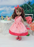Summer Seahorse - dress & sandals for Little Darling Doll or 33cm BJD