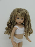 Summer Wig in Honey Ash Blonde - for Little Darling dolls
