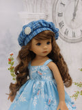 Suzie Snowflake - dress, jacket, beret, tights & shoes for Little Darling Doll or 33cm BJD