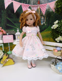 Sweet Cottontail - dress, tights & shoes for Little Darling Doll or other 33cm BJD