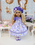 Sweet Hello Kitty - dress, hat, tights & shoes for Little Darling Doll or 33cm BJD