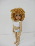 Tanesha Wig in Light Golden Blonde - for Little Darling dolls