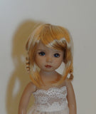 Tessie wig in Light Golden Blonde - for Little Darling dolls