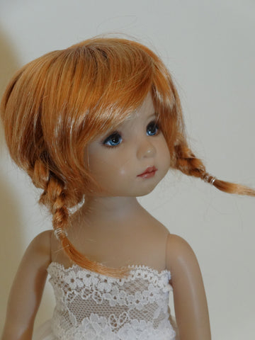 Tessie wig in Reddish Blonde - for Little Darling dolls