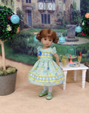 This Little Piggy - dress, tights & shoes for Little Darling Doll