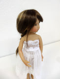 Venus Wig in Brown w/ Blonde Highlights - for Little Darling dolls