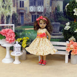 Vision of Spring - dress & sandals for Little Darling Doll or 33cm BJD