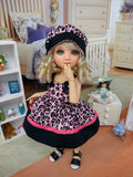 Wild Child - babydoll top, bloomers, hat & sandals for Little Darling Doll or 33cm BJD