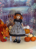 Witch Flight - dress, hat, tights & shoes for Little Darling Doll or 33cm BJD