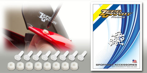 Fastner 32-130 White Nylon Fastener Kit