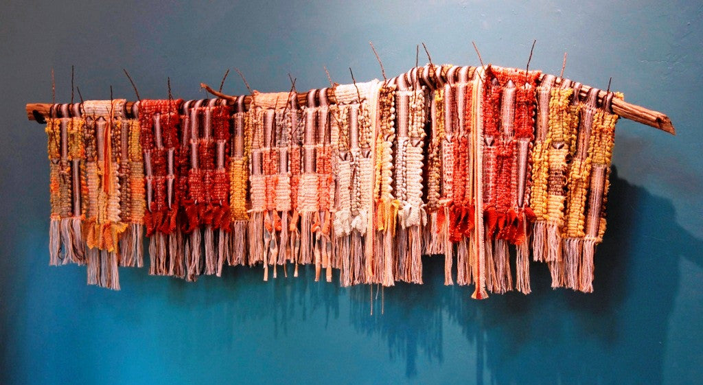 The Clearing history behind Mertha Fulkerson's weavings