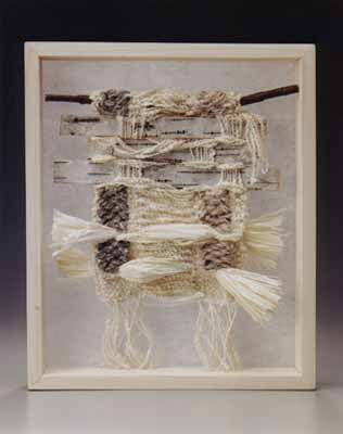 """Weaving in a paper makers world"" at the clearing folk art school."