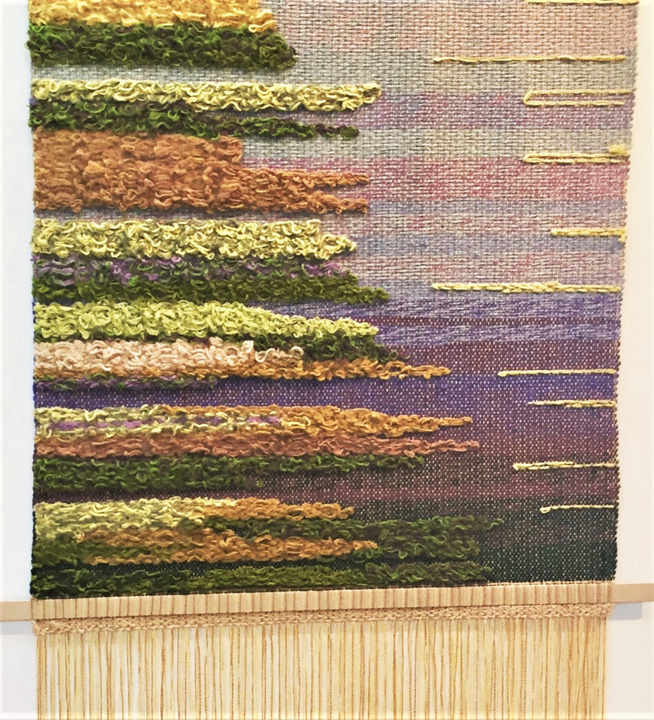 Felting a tapestry tutorial!