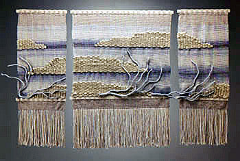 Bay&Bluff Tapestry Triptych | SOLD, commissioned work available.
