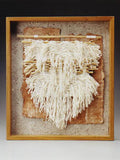 framed paper art, door county paper art, fiber art gallery