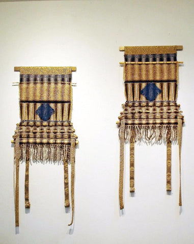 A Book of Changes | Art Series-Dynasty Chairs Diptych | SOLD, Commissioned Work Available