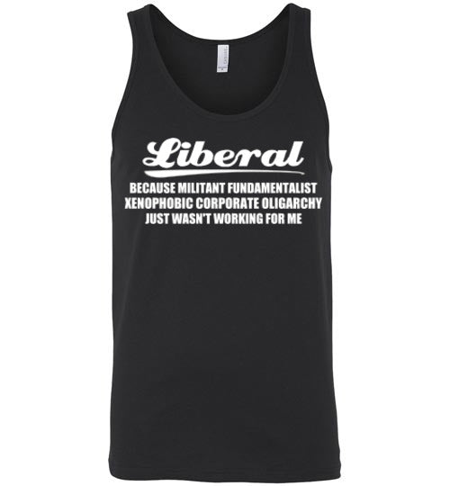 Liberal Tshirt - Statement Tease