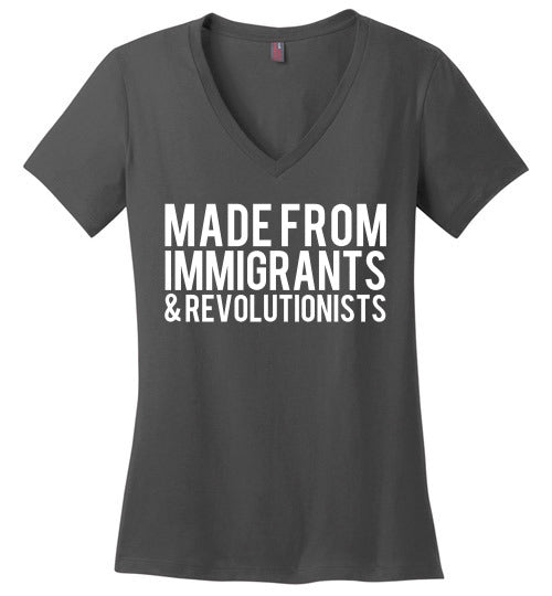 Made from Immigrants and Revolutionists - Statement Tease
