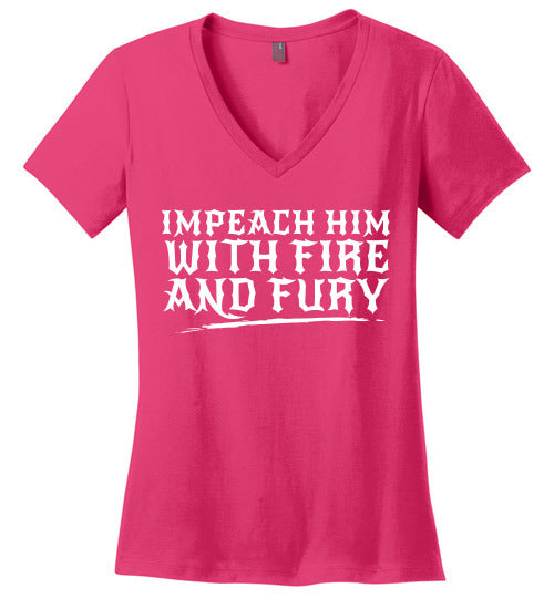 Impeach Him with Fire and Fury - Statement Tease
