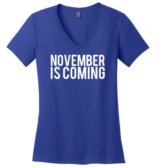 November is Coming T-Shirt - Statement Tease