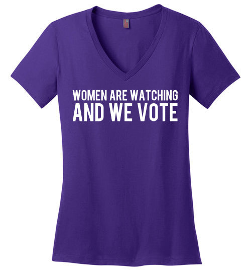 Women are Watching. And We Vote. - Statement Tease