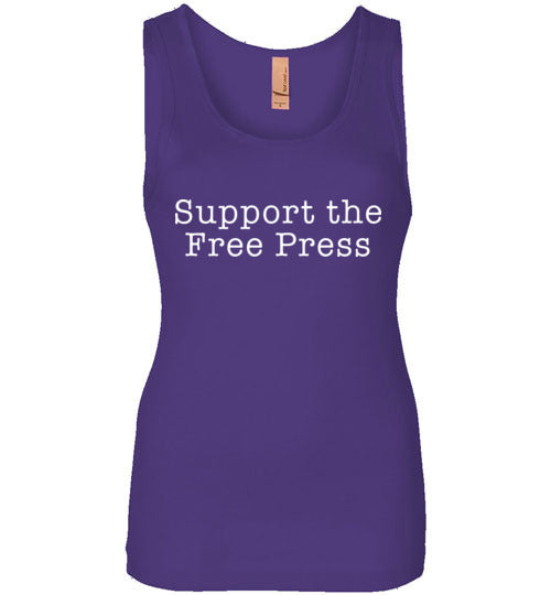 Support The Free Press TShirt - Statement Tease