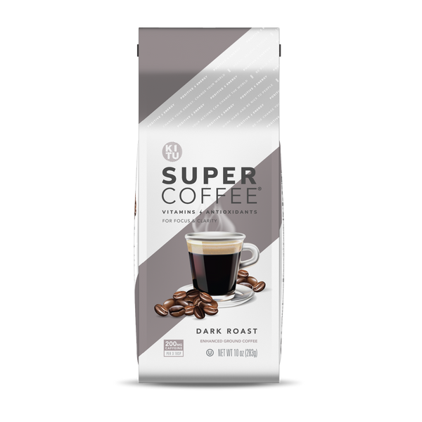 Dark Roast Super Coffee Grounds [Free Gift]
