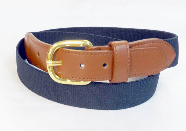 Wholesale Leather Elastic Stretch Men's Boat marine belt Wholesale 8001NNB
