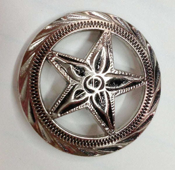 Wholesale Western Texas Star Conchos 3 pcs CH4181