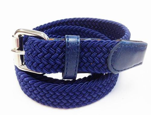 "Wholesale School Uniform Boy Kids 1"" Stretch Belts  6001SSNB"