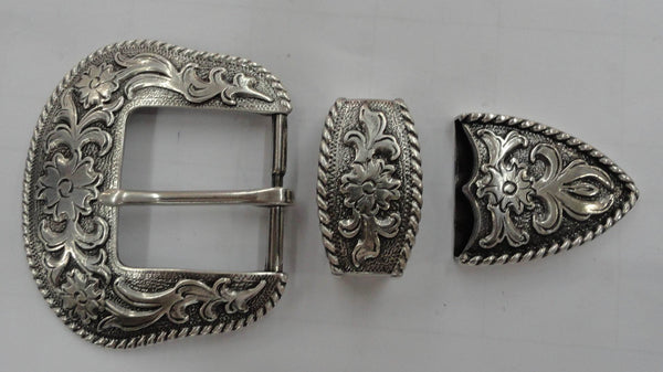 "Men Western Craft Leathercraft Rope1.5"" Buckle Wholesale 8990"