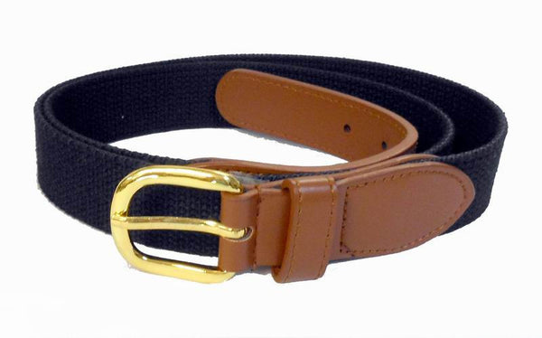 Premium PU Leather Mens Boat marine belt Wholesale 8002NBK