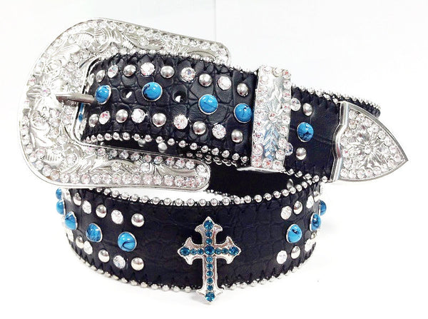 cross Rhinestone belt wholesale