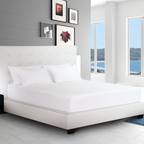 Premium Cotton Terry Mattress Protector