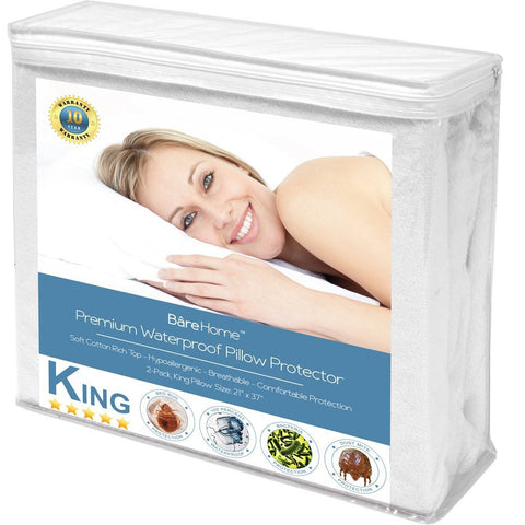 Premium Pillow Protector 2 Pack