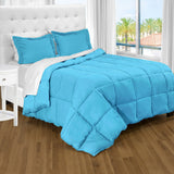 bare home, Comforter, Comforter Set, Twin XL Comforter, Twin Comforter, twin extra long comforter set, twin xl sheets, Microfiber comforter, microfiber, bedroom set, bedding, hypoallergenic, premium, ultra soft, aqua twin xl comforter set
