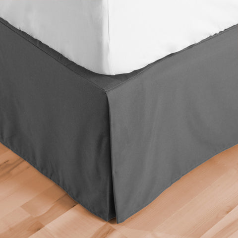 Microfiber Bed Skirt - Pleated Dust Ruffle