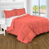 bare home, Comforter, Comforter Set, Twin XL Comforter, Twin Comforter, twin extra long comforter set, twin xl sheets, Microfiber comforter, microfiber, bedroom set, bedding, hypoallergenic, premium, ultra soft, coral twin xl comforter set
