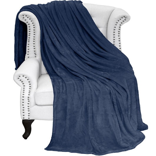 Bare Home, microplush, blanket, blankets, throw, super soft, micro plush blankets, microplush blankets, luxury, sheets, sheet, bedding, home, twin/twin xl, twin, twin xl, twin extra long, full/queen, full, queen, King sheets, cozy, hypoallergenic, premium, dark blue microplush super soft blanket