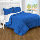 bare home, Comforter, Comforter Set, Twin XL Comforter, Twin Comforter, twin extra long comforter set, twin xl sheets, Microfiber comforter, microfiber, bedroom set, bedding, hypoallergenic, premium, ultra soft, medium blue twin xl comforter set
