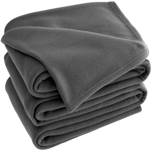 Bare Home, Polar Fleece, blanket, blankets, lightweight blanket, fleece blanket, premium ultra soft, hypoallergenic, cozy, dorm blanket, fleece, all season, thermal, luxury, grey polar fleece lightweight blanket