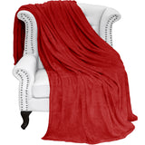 Bare Home, microplush, blanket, blankets, throw, super soft, micro plush blankets, microplush blankets, luxury, sheets, sheet, bedding, home, twin/twin xl, twin, twin xl, twin extra long, full/queen, full, queen, King sheets, Red, cozy, hypoallergenic, premium, red microplush super soft blanket