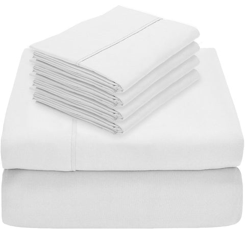 Ultra Soft Microfiber Sheet Set (Plus 2 Bonus Pillowcases)
