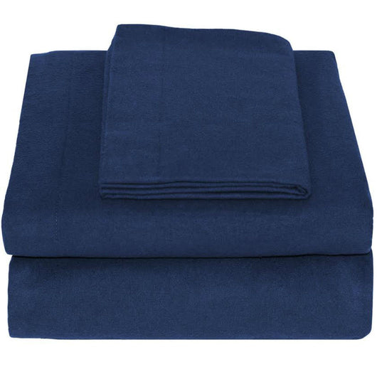 Bare Home, sheets, sheet, flannel sheets, heavyweight flannel, flannel cotton sheets, sheet sets, sheet set, flannel sheet set, flannel cotton sheet set, cotton sheet, twin xl sheets, twin extra long sheets, dark blue twin xl flannel cotton sheet set